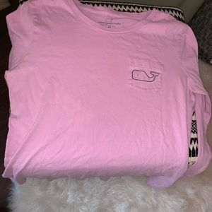 Purple vineyard vines long sleeve